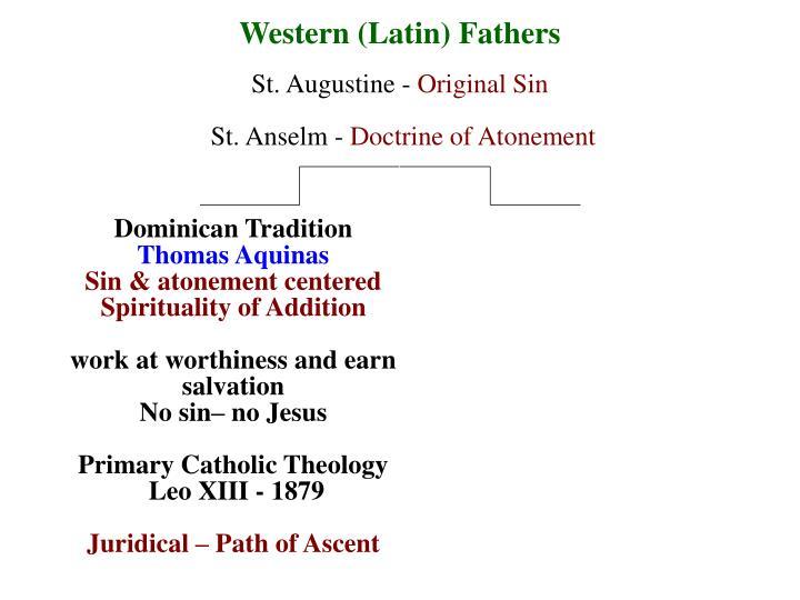Western (Latin) Fathers