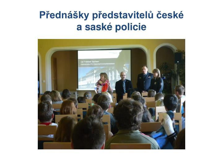 Přednášky představitelů české