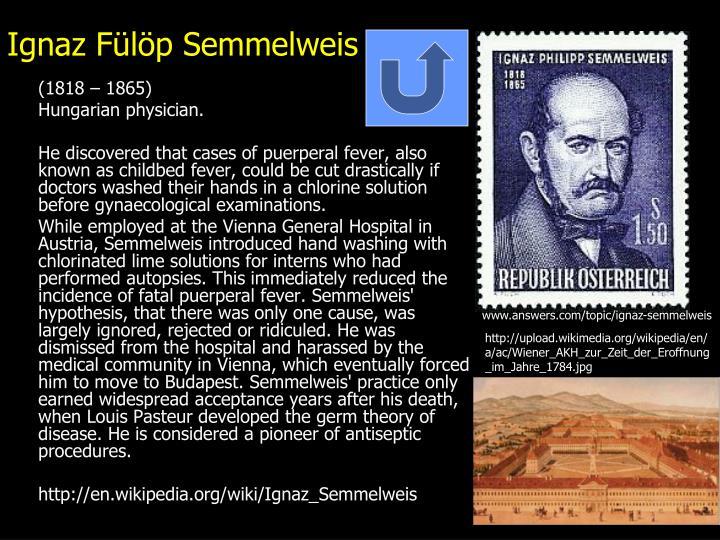 Ignaz Fülöp Semmelweis