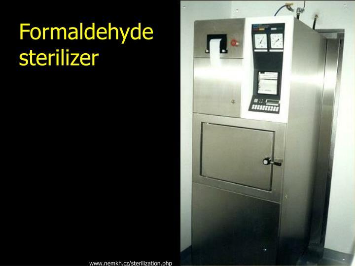 Formaldehyde sterilizer