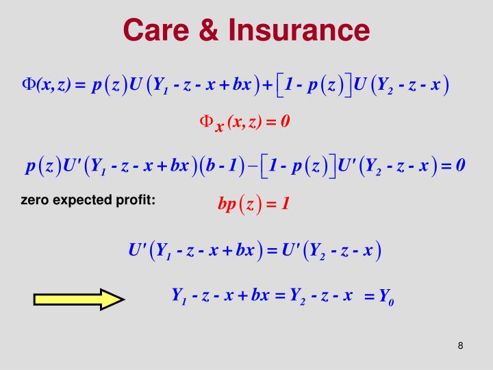 Care & Insurance