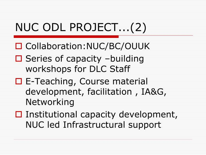 NUC ODL PROJECT...(2)