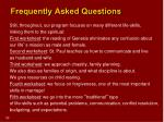 frequently asked questions8