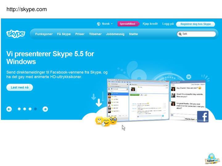 http://skype.com