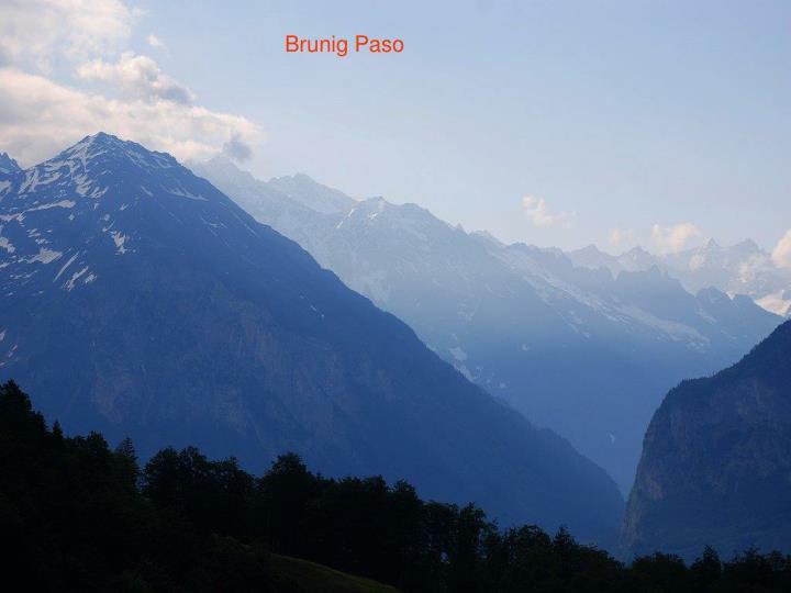 Brunig Paso
