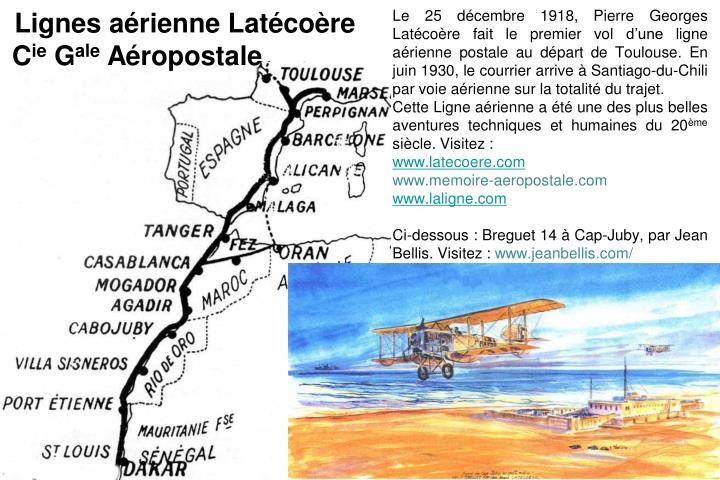 Lignes arienne Latcore