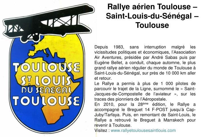 Rallye arien Toulouse