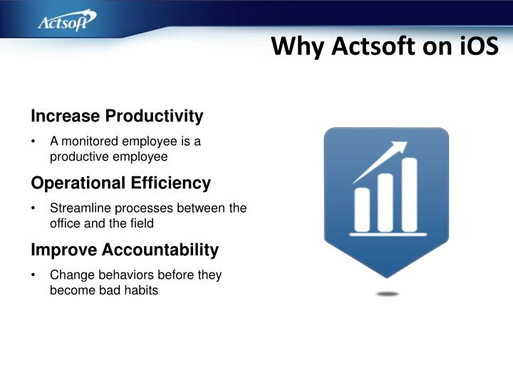 Why Actsoft on iOS