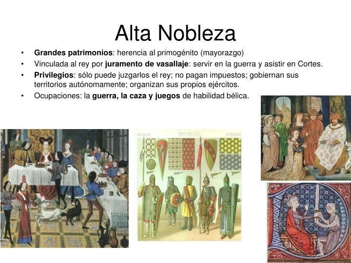 Alta Nobleza