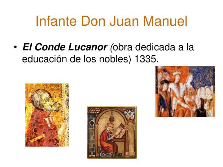 Infante Don Juan Manuel