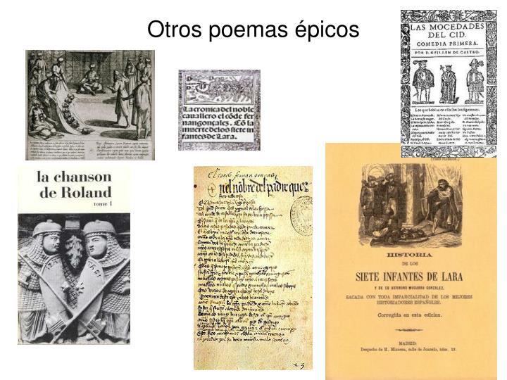 Otros poemas épicos