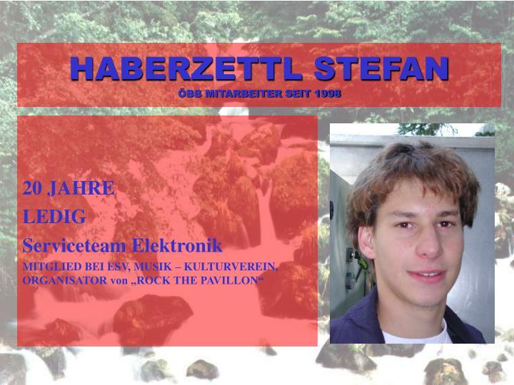 HABERZETTL STEFAN