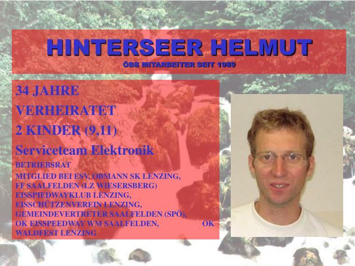 HINTERSEER HELMUT