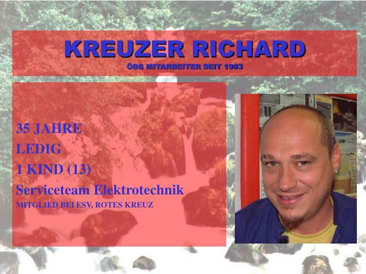 KREUZER RICHARD
