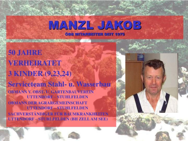 MANZL JAKOB