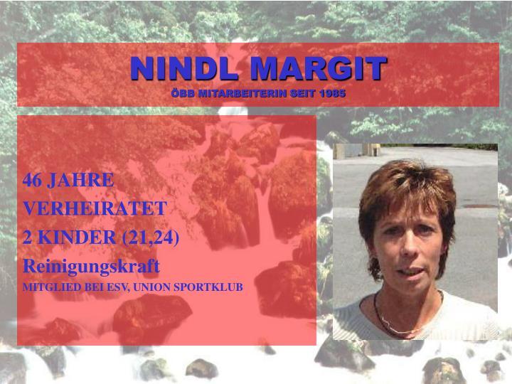 NINDL MARGIT