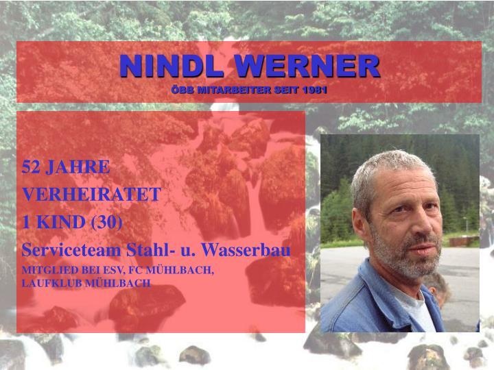 NINDL WERNER