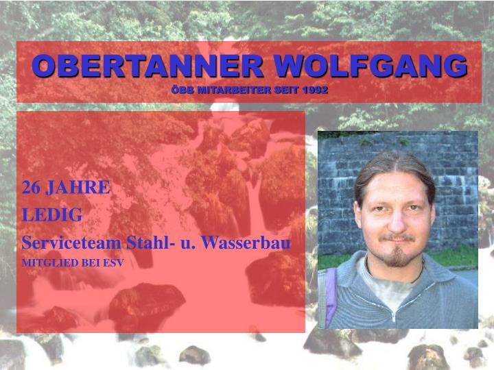 OBERTANNER WOLFGANG
