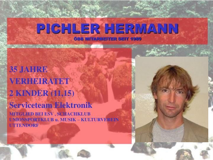 PICHLER HERMANN