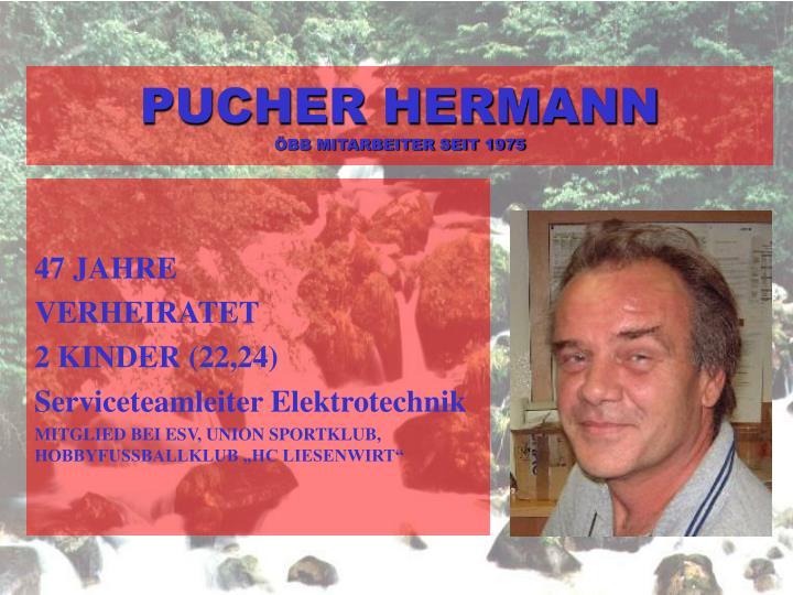 PUCHER HERMANN