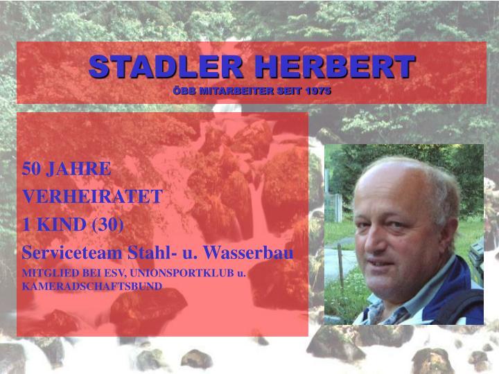 STADLER HERBERT