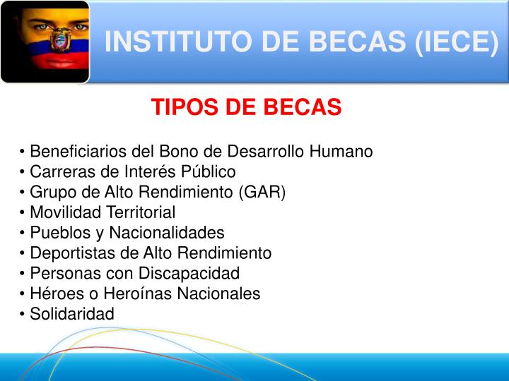 INSTITUTO DE BECAS (IECE)