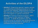 activities of the eildpa2