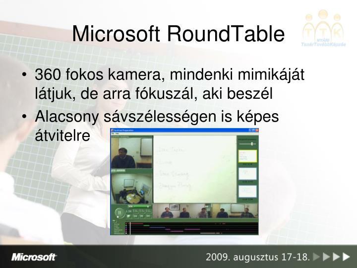 Microsoft RoundTable