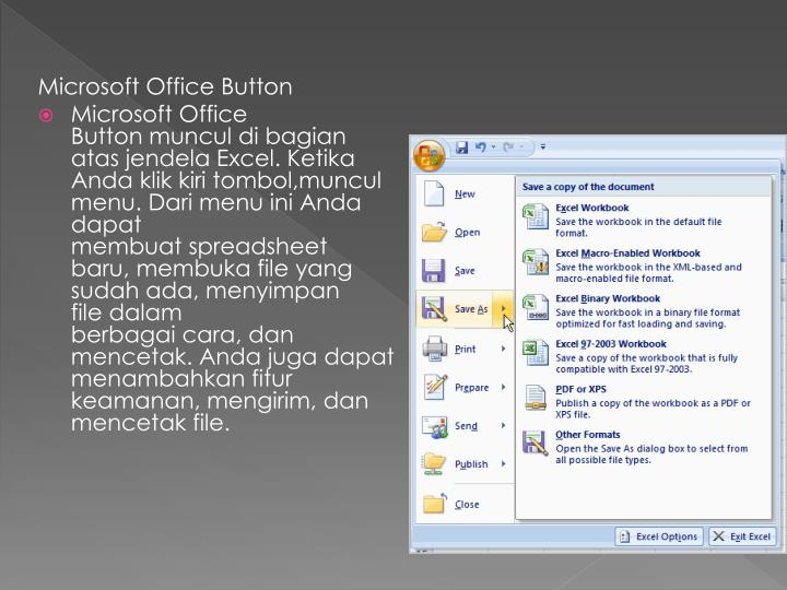 Microsoft Office Button