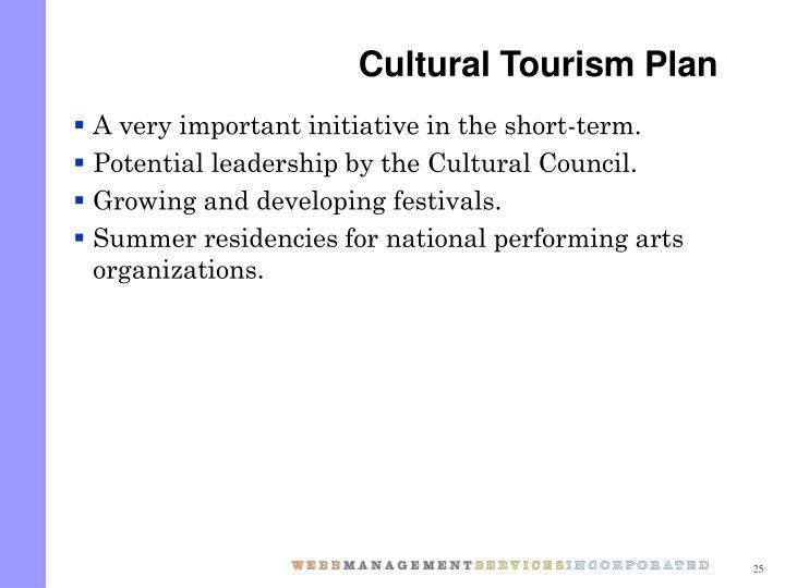Cultural Tourism Plan