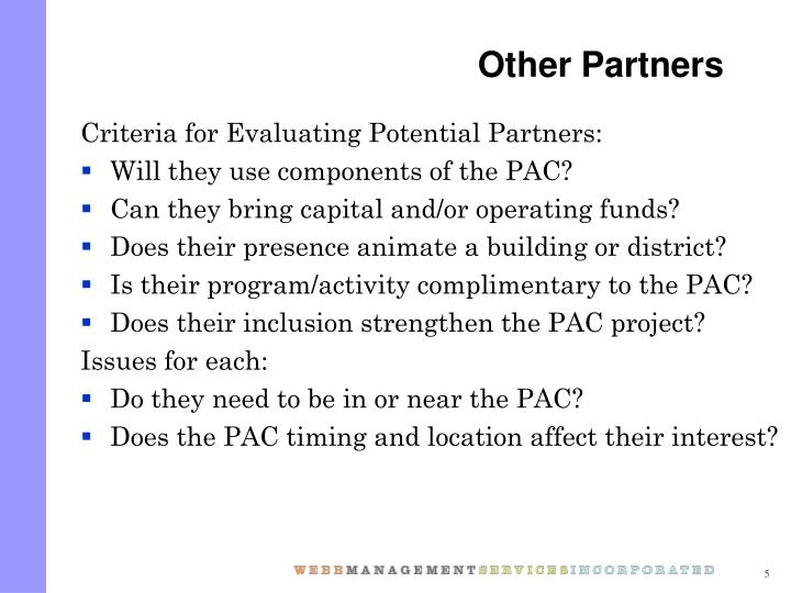 Other Partners