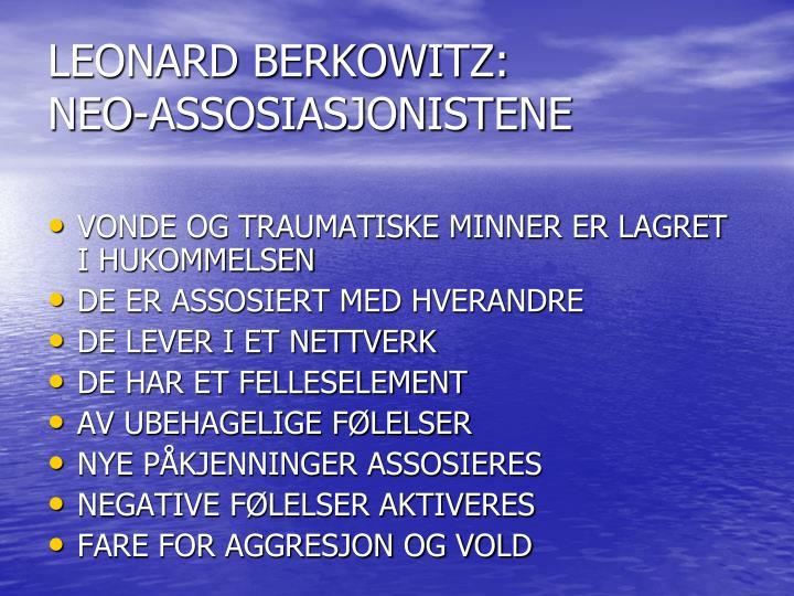 LEONARD BERKOWITZ: