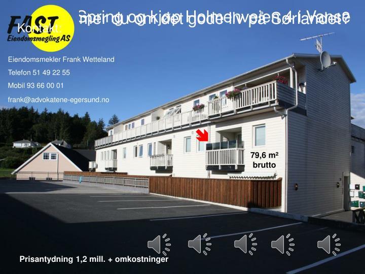 Drømmer du om det gode liv på Sørlandet?