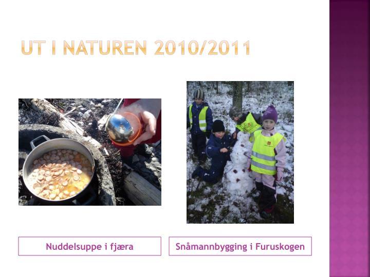Ut i naturen 2010/2011