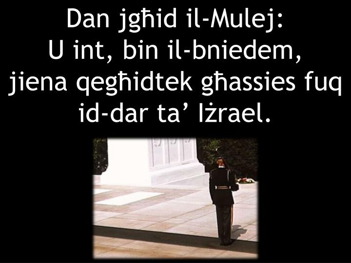 Dan jgid il-Mulej: