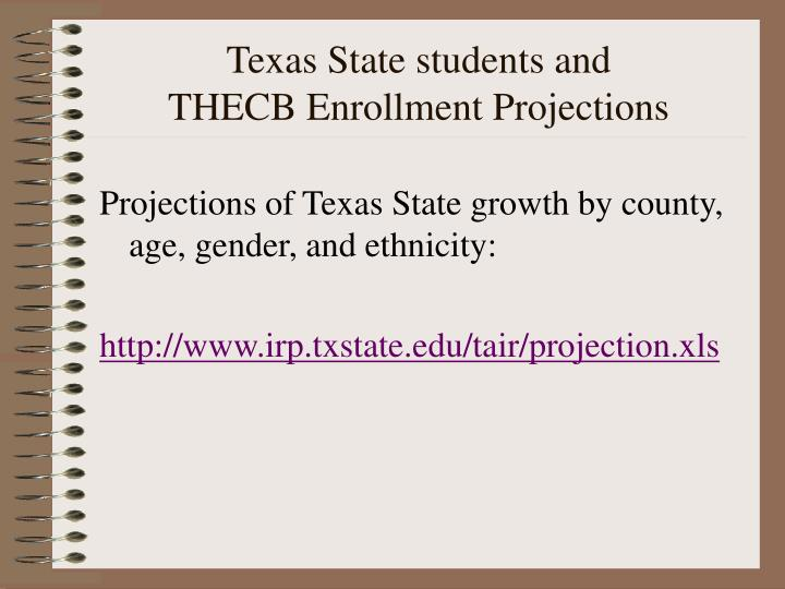 Texas State students and