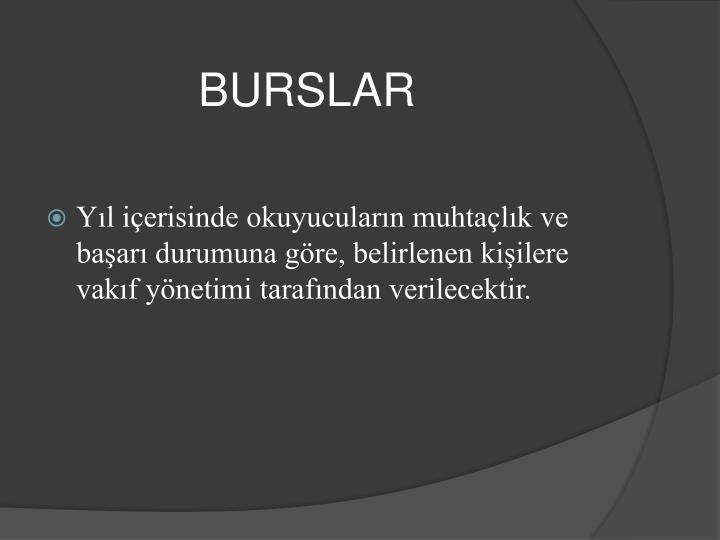 BURSLAR