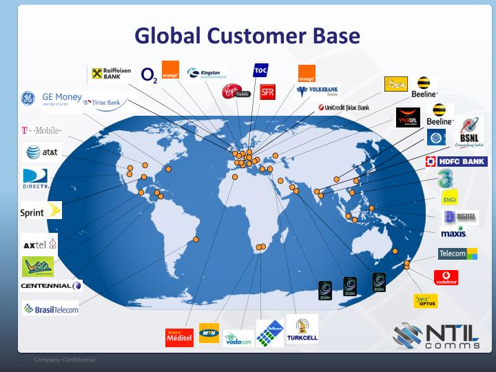 Global Customer Base