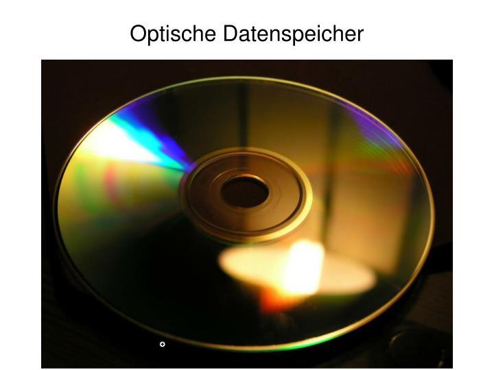 Optische Datenspeicher
