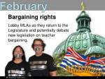 bargaining rights