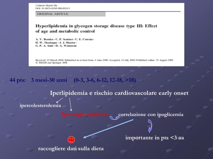 Iperlipidemia e rischio cardiovascolare early onset