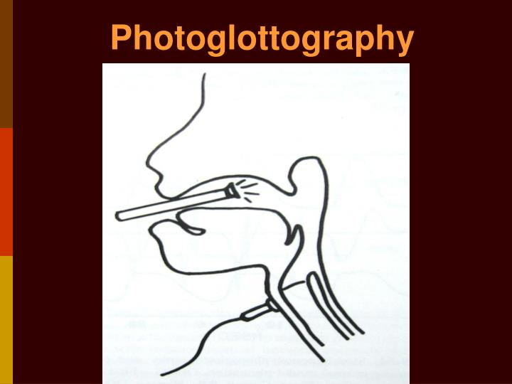 Photoglottography