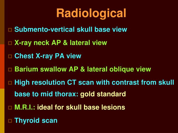 Radiological