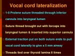 vocal cord lateralization1