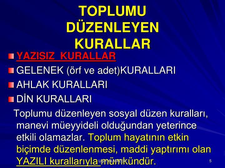 TOPLUMU