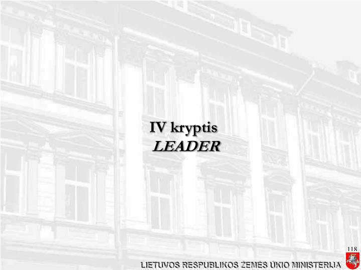 IV kryptis