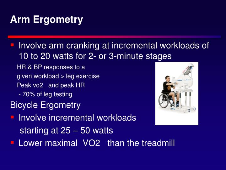 Arm Ergometry