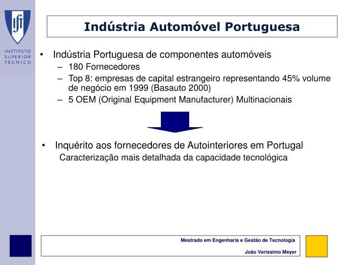 Indústria Automóvel Portuguesa
