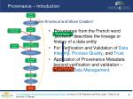 provenance introduction