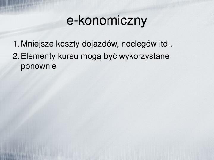 e-konomiczny